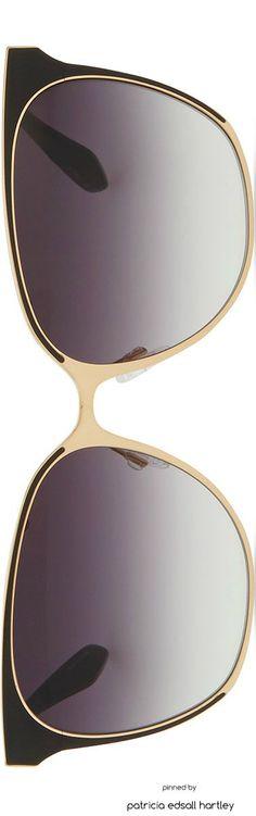 Barton Perreira Universal Fit Edie Metal/Enamel Sunglasses: