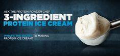 Bodybuilding.com - Ask The Protein Chef: Got A Simple Protein Ice Cream Recipe?