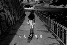 Immagine di girl, alone, and anime