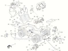 john deere rx75 parts manual | parts schematic and parts ... barbie jammin jeep wiring diagram barbie jeep wiring diagram
