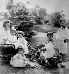 Childhood memories Young John F. Kennedy, his brother and three sisters are shown in 1923