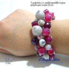 For #sale shipping worldwide #gelang #bracelet #semiprecious #handmade #handmadebracelet #statementbracelet