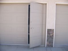 Walk-Thru Custom Garage Door in Elbert, CO