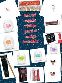 Haz un regalo visible para el amigo invisible!!!! Estamos en c/ Maestro Falla.29,Castellon o 650 505 700 Visita nuestra tienda online: www.tu2deseo.com