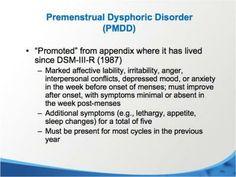 Premenstrual Dysphoric Disorder Symptoms Natural Remedies