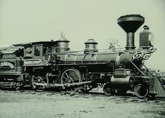 Handsome fella there! Steam Train From 1800S
