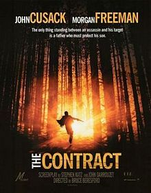 The Contract is a 2006 film . A cat-and-mouse thriller, The Contract stars Oscar-winner Morgan Freeman as assassin Frank Carden and John Cusack as teacher Ray Keene. Released directly to video.