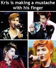 Reason why it might be hard to take Kris seriously when he raps...HAHAHA