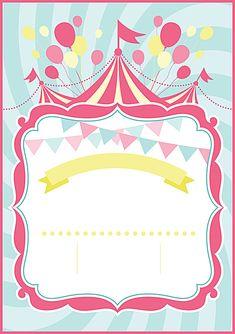 Fondo de dibujos animados de circo Carnival Themed Party, Carnival Birthday Parties, Carnival Themes, Birthday Party Themes, Circus Background, Cartoon Background, Dumbo Birthday Party, Circus Birthday, Adult Circus Party