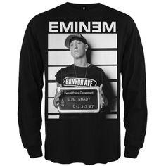 Eminem - Mugshot Long Sleeve T-Shirt 86476df054d