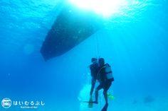 八重山の美しいサンゴ礁の海… 海中の世界は、もっと美しく神秘的な世界が広がっています。 八重山の海を満喫するには体験ダイビングがお勧めです。