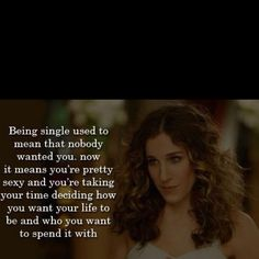 Great SATC quote