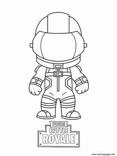 Fortnite coloring pages | Print and Color.com in 2019 ...
