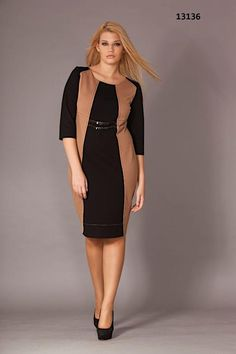 Стильные платья для полных женщин турецкого бренда Gemko. Осень-зима 2013-2014