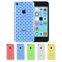 iPhone 5C - Jelly TPU Clear Soft Snap On Back Case in Assorted Designs - Thumbnail 3