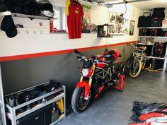 Ducati garage Ducati Monster 1100, Garage, Motorcycle, Carport Garage, Garages, Motorcycles, Motorbikes, Car Garage, Carriage House