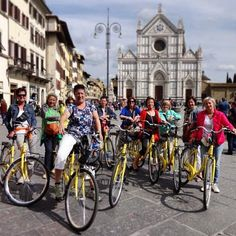 Florence is the perfect city by bike. Check http://www.bajabikes.eu/en/florence-guided-bike-tour for more information!