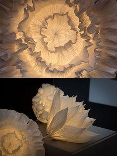 J'aimerais avoir un des luminaires sculpturaux de Oznoon car leurs réalisations sont impressionnantes