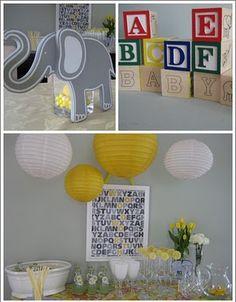 Alphabet Party Ideas