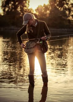 Fishing was a common aspect of her life before she moved to Watertown MA....