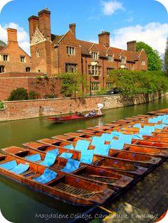 Magdalene College, Cambridge, England