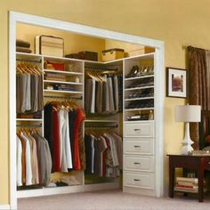 """View the Closet Organization: 9 Pro Tips to End """"Stuffication"""" photo gallery on Yahoo Homes. Find more news related pictures in our photo galleries."""