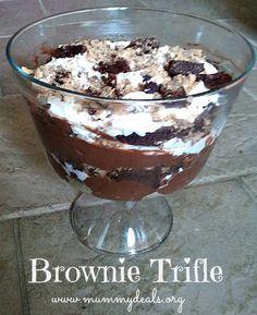 Brownie Trifle Recipe - Mummy Deals