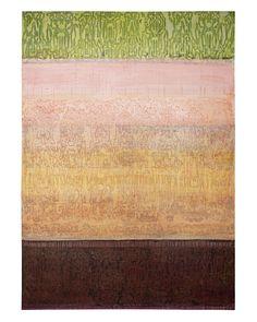 Silk Road 4 - Melanie Millar - acrylic, oil on canvas