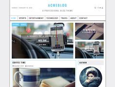 Acme WordPress free blogging theme. Find out more: http://curatable.net/20-free-wordpress-themes-i-would-actually-use-to-start-a-new-blog-in-2016/