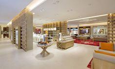 Дизайн интерьера торгового центра в Камбодже