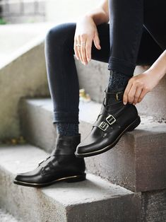 John Fluevog Darin Ankle Boot at Free People Clothing Boutique #shoes