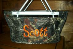 Personalized Easter basket/market tote with free shipping $30 at www.personalizeyouritems.com