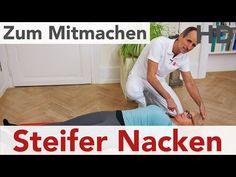 Steifer Nacken // Nackenschmerzen, Nackenverspannungen, HWS. Ursache, Faszienrolle, Übungen - YouTube