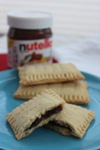 Homemade Nutella Pop Tarts - Couponing with Boys!