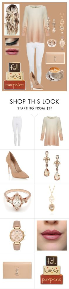"""Fall needs to hurry up!"" by jujuxx33 ❤ liked on Polyvore featuring Topshop, Joie, Lipsy, Oscar de la Renta, BEA, Perle De Lune, Michael Kors and Yves Saint Laurent"