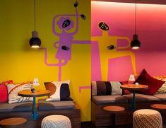 We love Color #cestdesign . . . #interiordesign #interior4inspo #restaurantdesign #bardesign #designlovers #interior2all #interiordesignersofinsta Diy Desk, Interior S, Interior Design, Restaurant Design, Floor Chair, Flooring, Color, Decor Ideas, Love