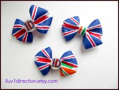 One Direction Hair Bow by Iluv1Direction on Etsy, $5.00