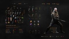 [콘솔/PC] THE WITCHER 3: UI ART : 네이버 블로그