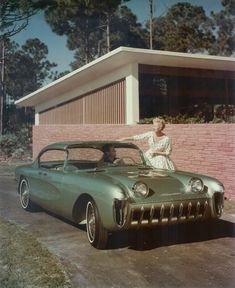 1955 Chevy Biscayne was considered to be one of the most beautiful Motorama cars ever produced!