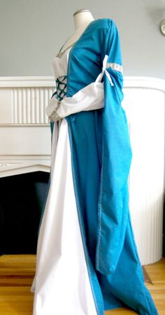 Custom Made Medieval Dress Renaissance Gown by CadwaladrCostumes