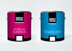 Servicolor #can #packaging