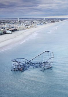 abandonned rollercoaster