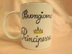 Personalise your mug by Lecosuzze on Etsy Hand Painted, Unique Jewelry, Mugs, Tableware, Etsy, Art, Frases, Pictures, Art Background