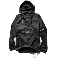 Orders will ship 03-24-2017HIGHLY WATER RESISTANTWill come bundled in a free N°666 Armband Alpha Motif Black High quality wind breaker/anorak A L P H A hidden collar printSmall pr...