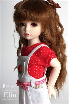 BJD Shop iplehouse elin bjd [iplehouse girl elin - PS: Please choose the makeup type for your doll. Pretty Dolls, Beautiful Dolls, Child Doll, Girl Dolls, Porcelain Dolls For Sale, Reddish Brown Hair, Cute Baby Dolls, Dream Doll, Little Doll