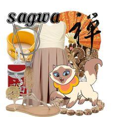 """Sagwa, the Chinese Siamese Cat"" by likeghostsinthesnow on Polyvore"