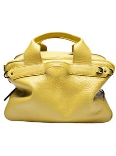 0e13f0cf70 Lark small duffle in limon from 3.1 Phillip Lim. This leather structured  duffle handbag features