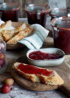Stickelsbærsyltetøy med vanilje French Toast, Breakfast, Food, Morning Coffee, Essen, Meals, Yemek, Eten