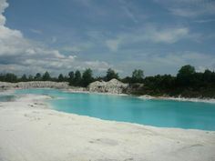 Danau Kaolin, Belitung Indonesia
