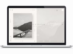 Føhr on Behance -- web design
